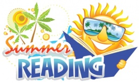 summer reading dude clipart