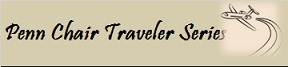 Penn Chair Traveler banner with jet plane